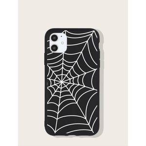 Black Spider Web iPhone 11 Pro Max Case 🕸